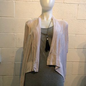 Lululemon beige knit cardigan sweater sz 4 59727